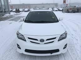Used 2013 Toyota Corolla 4 Door Car in Red Deer, AB J20281