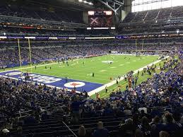 Lucas Oil Stadium Seating Chart View Lucas Oil Stadium Section 249 Row 1 Seat 2 Indianapolis