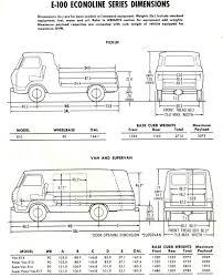 1965 Ford E-100 Econoline Dimensions: Van, Supervan & Pick…   Flickr