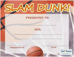 Printable Sports Certificates Fresh Free Printable Basketball Award