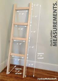 quilt ladders ladder racks woodworking projects and for diy wooden rack