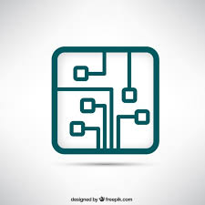 circuit board vectors photos and psd files circuit board logo