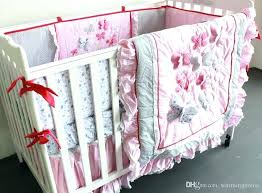 pink and gold crib bedding pink pink and gold mini crib set pink and gold crib bedding