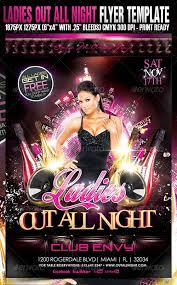 club flyer templates night club flyer