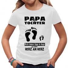 Papa Und Tochter Shirt T Shirt Selbst Gestalten Drucken Im