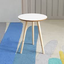 yona furniture nordic style simple side table creative small coffee table small round coffee table round