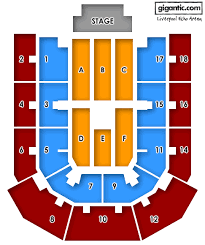 Liverpool Echo Seating Chart Ms Bank Arena Layout