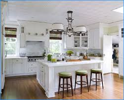 Stunning Modern French Country Kitchen Decor Black Wood Island