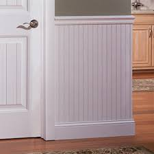 Wainscoting using Beadboard In Easy to Assemble Kits