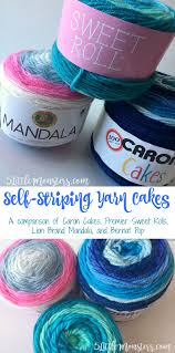 5 Little Monsters Self Striping Yarn Cakes A Comparison Of