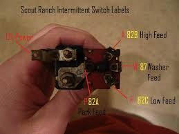 scout ranch intermittent switch on early sii binderplanet on second look the drawing included the scout ranch intermittent switch show the low and high feeds being opposite of how you just described