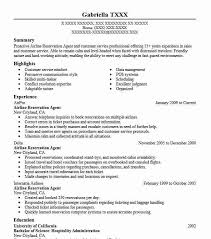 Airline Reservation Agent Resume Sample Livecareer