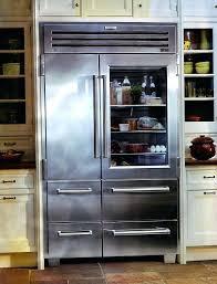 48 inch refrigerator french door kitchen beautiful glass door refrigerator design idea feat smart wall storage