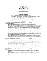 Resume Templates Hospice Nurse Examples Of Resumes Cover Letter Care