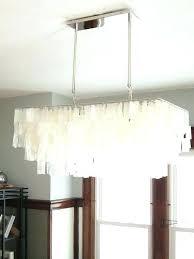 rectangular capiz chandelier white shell chandelier west elm large pleasant rectangular room decorating ideas 5 capiz rectangular capiz chandelier