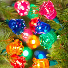 Clear Or MultiColor Christmas Tree LightsHow About Both Old Style Christmas Tree Lights
