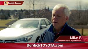 Burdick Toyota Camry Commercial - YouTube
