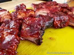 cajun pork riblets bbq grilling