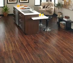 elegant kitchen design with cozy vinyl plank flooring