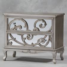 antique mirrored furniture. Antique Silver Mirror Fronted Rococo Large Chest Of Drawers Mirrored Furniture