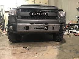 2014 - 2017 Toyota Tundra Titus Front Low Pro Winch Bumper – P&P ...