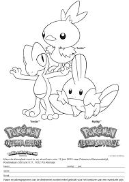 Pokemon Kleurwedstrijd