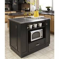 small portable kitchen island. Kitchen Island Microwave Cart Imposing Stainless Steel With Black Cabinet Paint Color Also Sharp Cabi Room Small Portable .