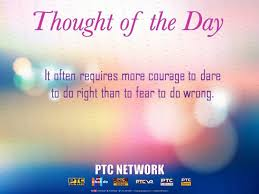 Thought For The Day Quotes Gorgeous Thought Of The Day Motivational Quotes PTC News