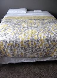 Gray And Yellow Bedding Target | Bedroom Ideas Pictures | Home ... & pretty gray and yellow target quilt. reminds me of Bauer Lanuza Adamdwight.com