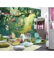 Kinderkamer Behang Lion King Jungle