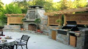 fireplace pizza oven insert pizza oven combo plans fire pit grill combo rustic outdoor kitchen ideas
