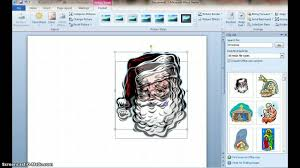 how to create a birthday card on microsoft word how to make a christmas card using microsoft word youtube