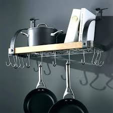 wall mounted pot rack wall mounted pan rack elegant pot racks hanging stand crate and amazing wall mounted pot rack