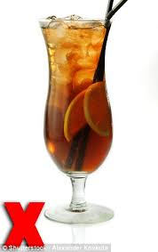 long island iced teas are the worst drinks to have on a night out anywhere