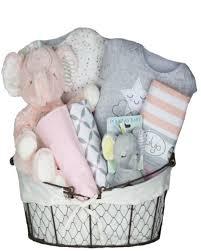 pink elephant stars basket