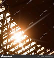 Oberlicht Fenster Abstrakte Architektonischen Hintergrund Mit Platz