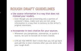 writing the rough draft writing the rough draft