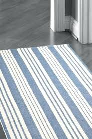 striped cotton rugby socks rugs furniture blue white rug