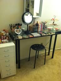 Makeup Storage: Ikea DIY Vanity