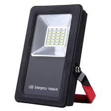 Battery Flood Lights Outdoor Mini Portable Floodlight 30w 24 Leds Usb Charging Battery