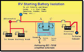 hellroaring battery isolator combiner notes for multi battery how to charge rv batteries in parallel at Motorhome Battery Wiring Diagram Two