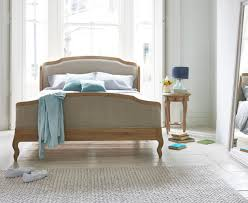 upholstered sleigh beds.  Sleigh Jolle Bed In Our Natural Linen House Fabric On Upholstered Sleigh Beds
