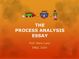 process analysis essay theprocess analysis essay prof
