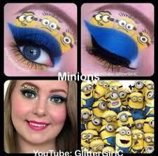 minions cool makeup looks crazy makeup cute makeup makeup art nerdy makeup