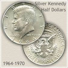 1960 Half Dollar Value Chart Forgotten Silver Kennedy Half Dollars