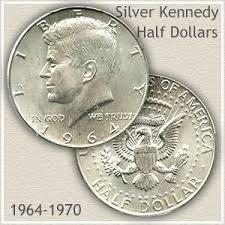 1967 Kennedy Half Dollar Value Chart Forgotten Silver Kennedy Half Dollars