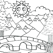 mountain coloring pages for kids mountain lion coloring page mountain lion coloring page mountain coloring pages