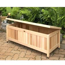 deck cushion storage impressive design backyard storage box deck storage box offers multiple benefits outdoor cushion