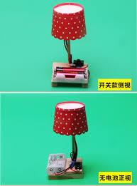 DIY sáng tạo đèn bàn nhỏ trẻ em thí nghiệm khoa học đồ chơi trường tiểu học  công nghệ sản xuất nhỏ phát minh của nhãn hiệu gói nguyên liệu