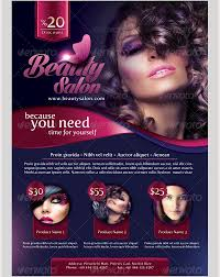 beauty and makeup leflet 71 beauty salon flyer templates free